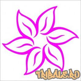 Sticker floare 01