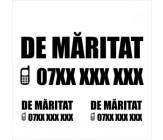 """Set Sticker """"De vanzare"""" - varianta 1"""