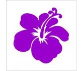 Sticker Hibiscus (Trandafir Chinezesc)