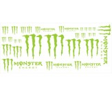 Set stickere Monster Energy - 28 piese