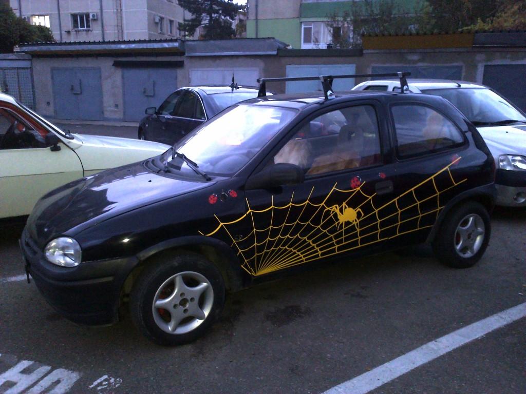 Sticker paianjen auto